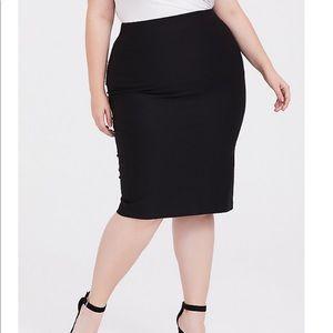 Torrid Black Pencil Skirt
